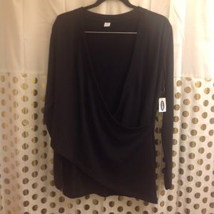 Old Navy Active L Wrap Sweatshirt New NWT Sweater